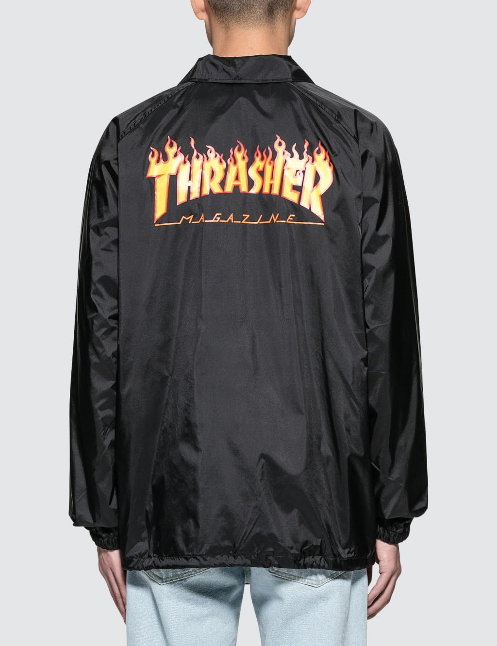 Thrasher Flame Coach Jacket