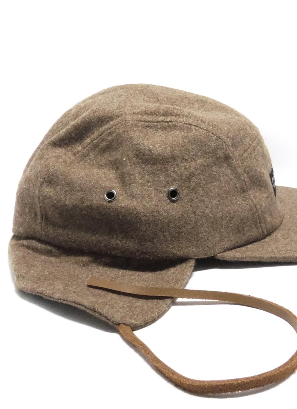 Jual Cool Caps Brown 5 Panel Flap Cap 100 Original Bobobobo Kepala Untuk Renang