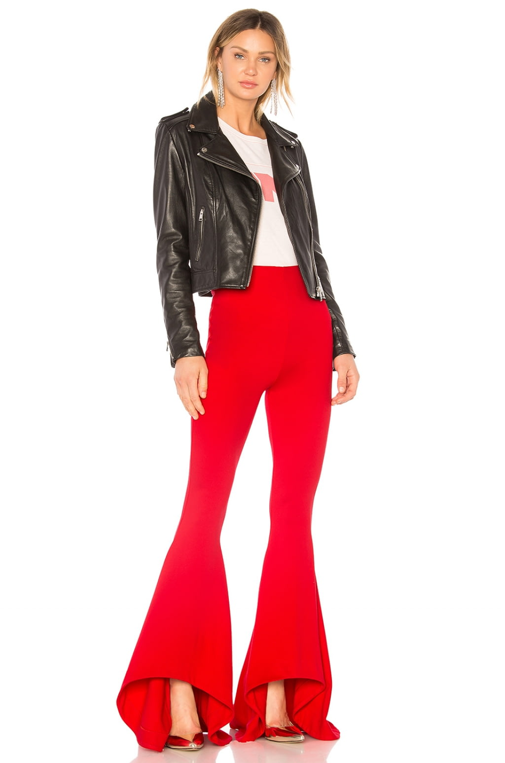 Shirley Temple Flare In Red. Flare Shirley Temple En Rouge. - Size Xs (also In S) Nbd - Taille Xs (également S) Nbd GJlpmEiT