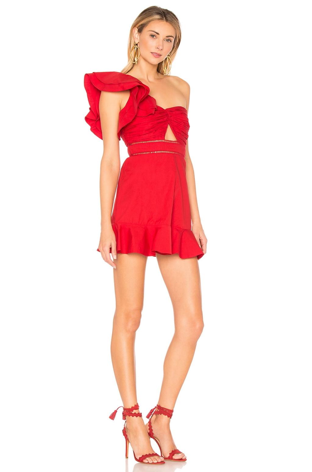 Marina Dress in Red. - size L (also in M,S,XS,XXS) Tularosa