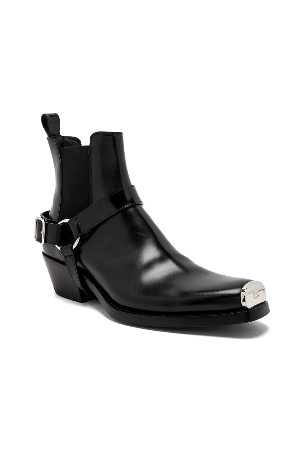 Buy Original Calvin Klein 205w39nyc Leather Western Harness Boots At Maxi Seal