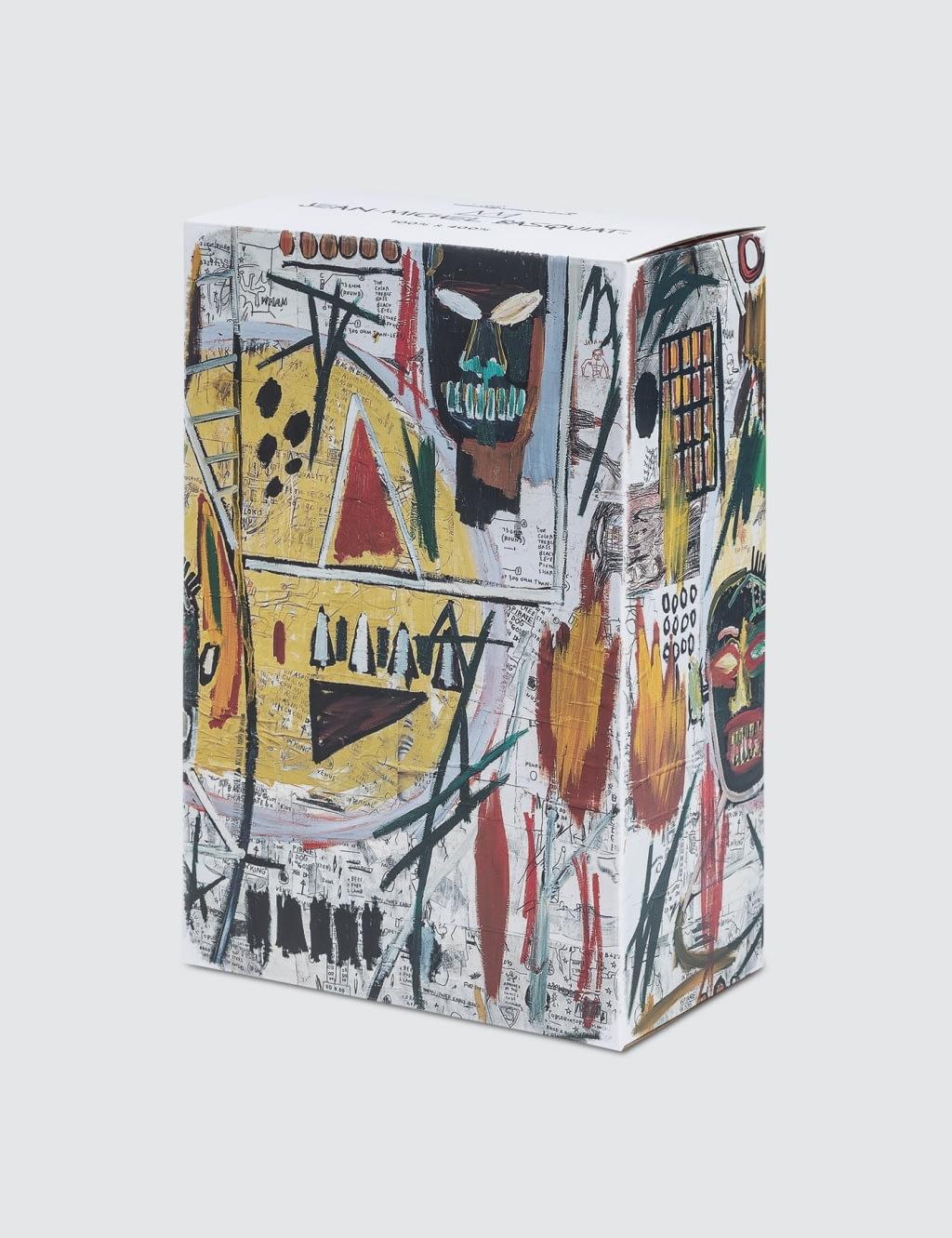 Medicom Toy 100 400 Jean Michel Basquiat Berbrick