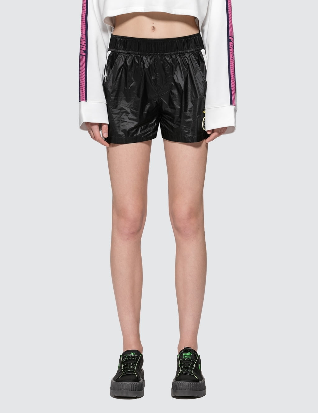 ... Fenty Puma By Rihanna Tearaway Mini Shorts ...