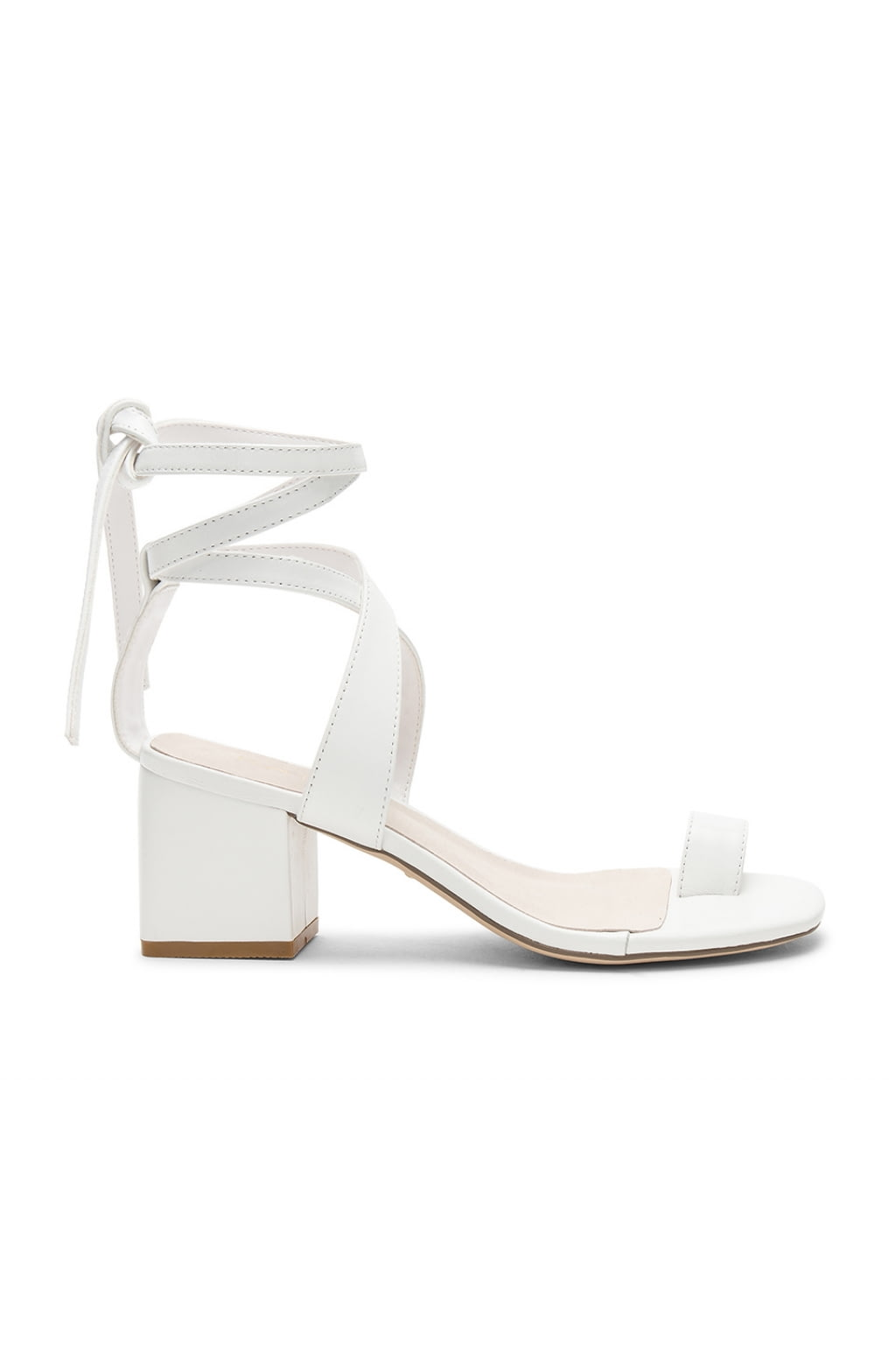 Clem Sandal in White. - size 6 (also in 10,5.5,6.5,7,7.5,8,8.5,9,9.5) Raye