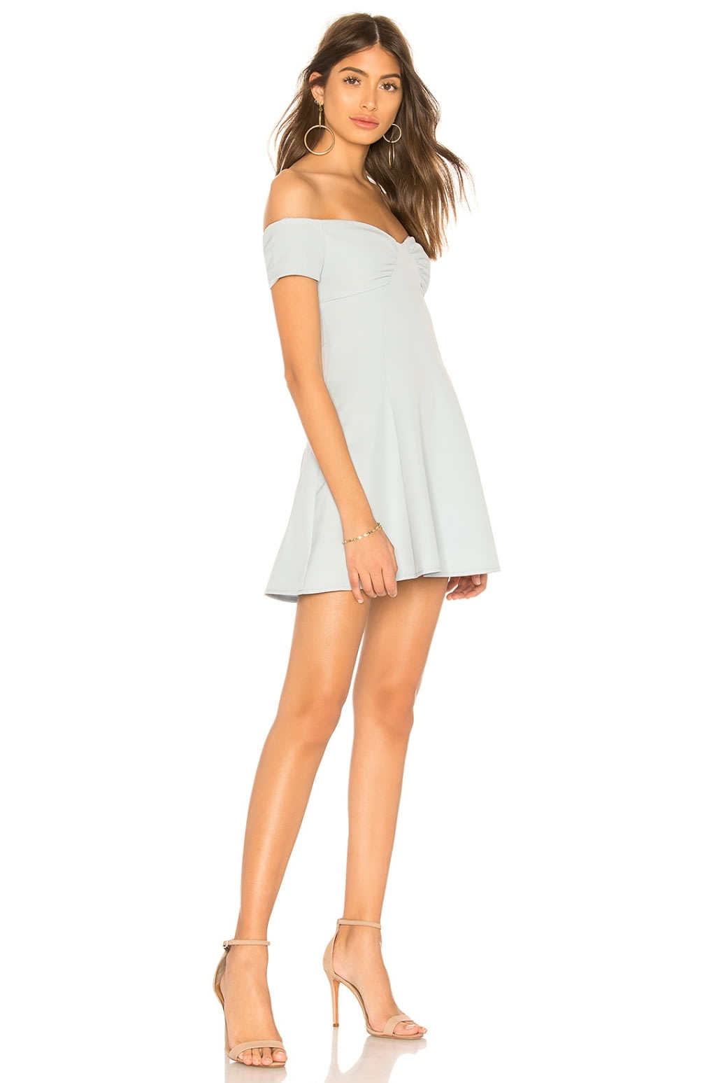 Monica Fit & Flare Dress in Ivory. - size XS (also in L,M,S,XXS) by the way.