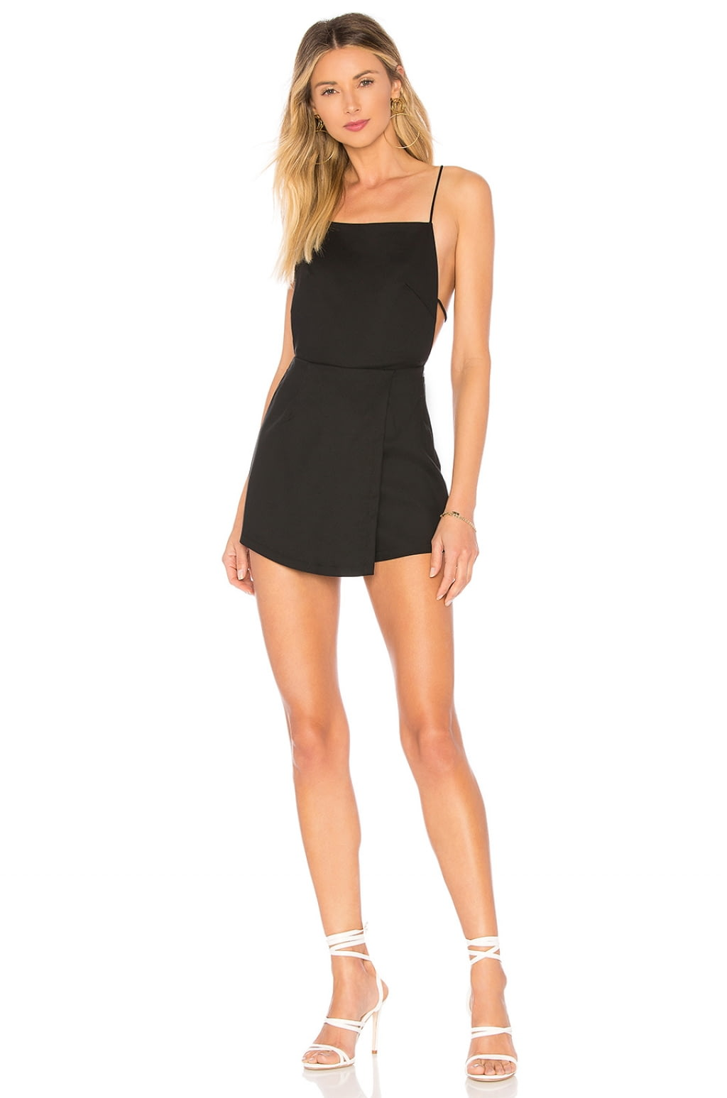 Veda Skort Romper in Black. - size M (also in L,S,XS) by the way.