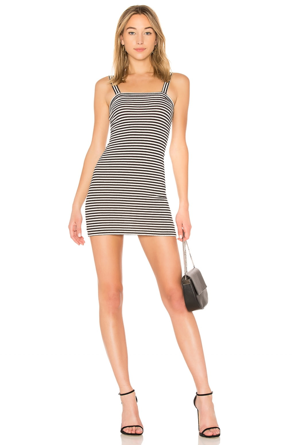 Bradian Dress in Black & White. - size M (also in S,XS) Privacy Please