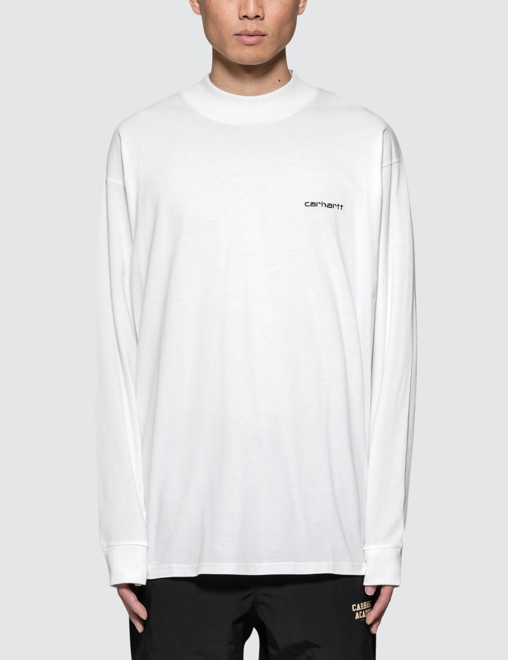 Long Sleeve Base Regular Fit T-Shirt - White Carhartt Work in Progress Clearance Reliable h5EP2py