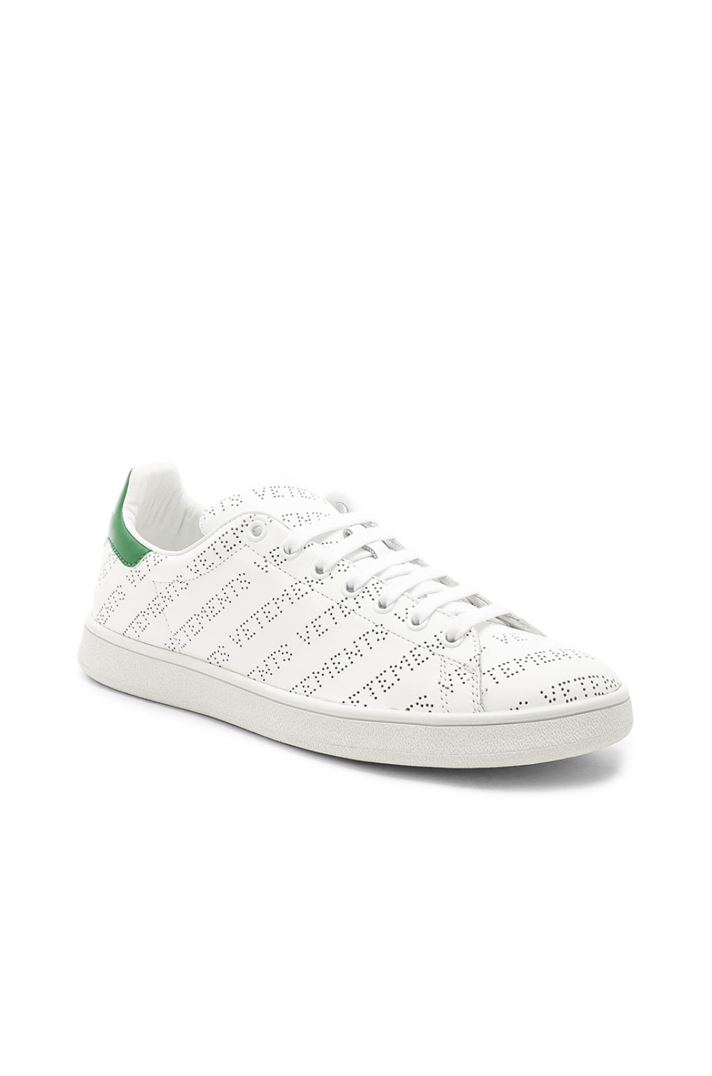 Perforated leather sneakers VETEMENTS q8MmnZ