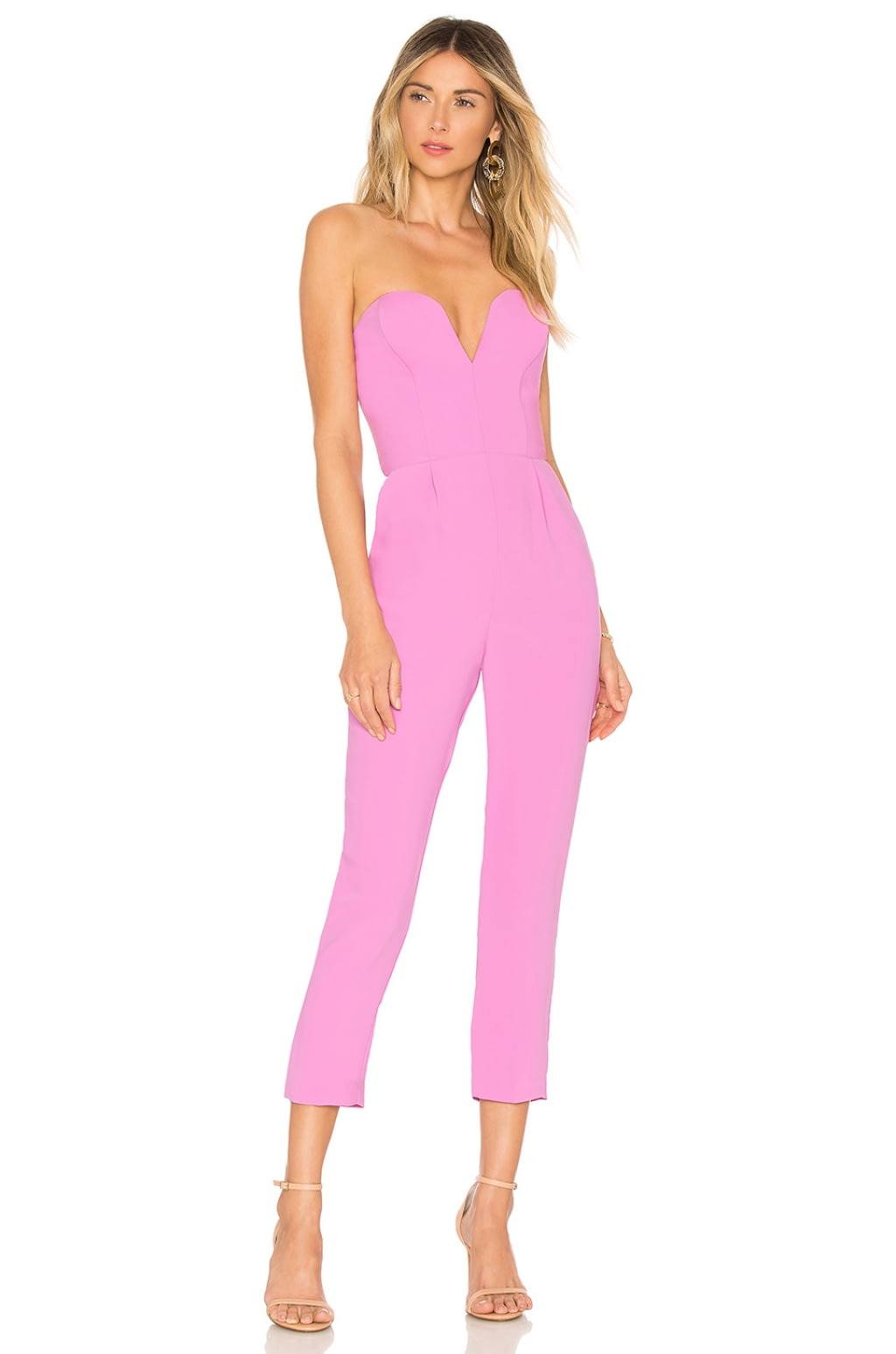 Buy Original Amanda Uprichard Cherri Jumpsuit At Indonesia Bobobobo