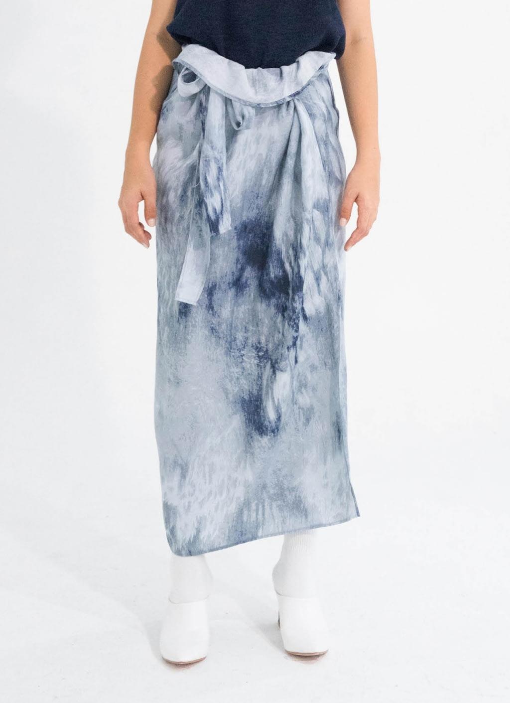 buy original tees and scissors gray abstract silky rayon sarong