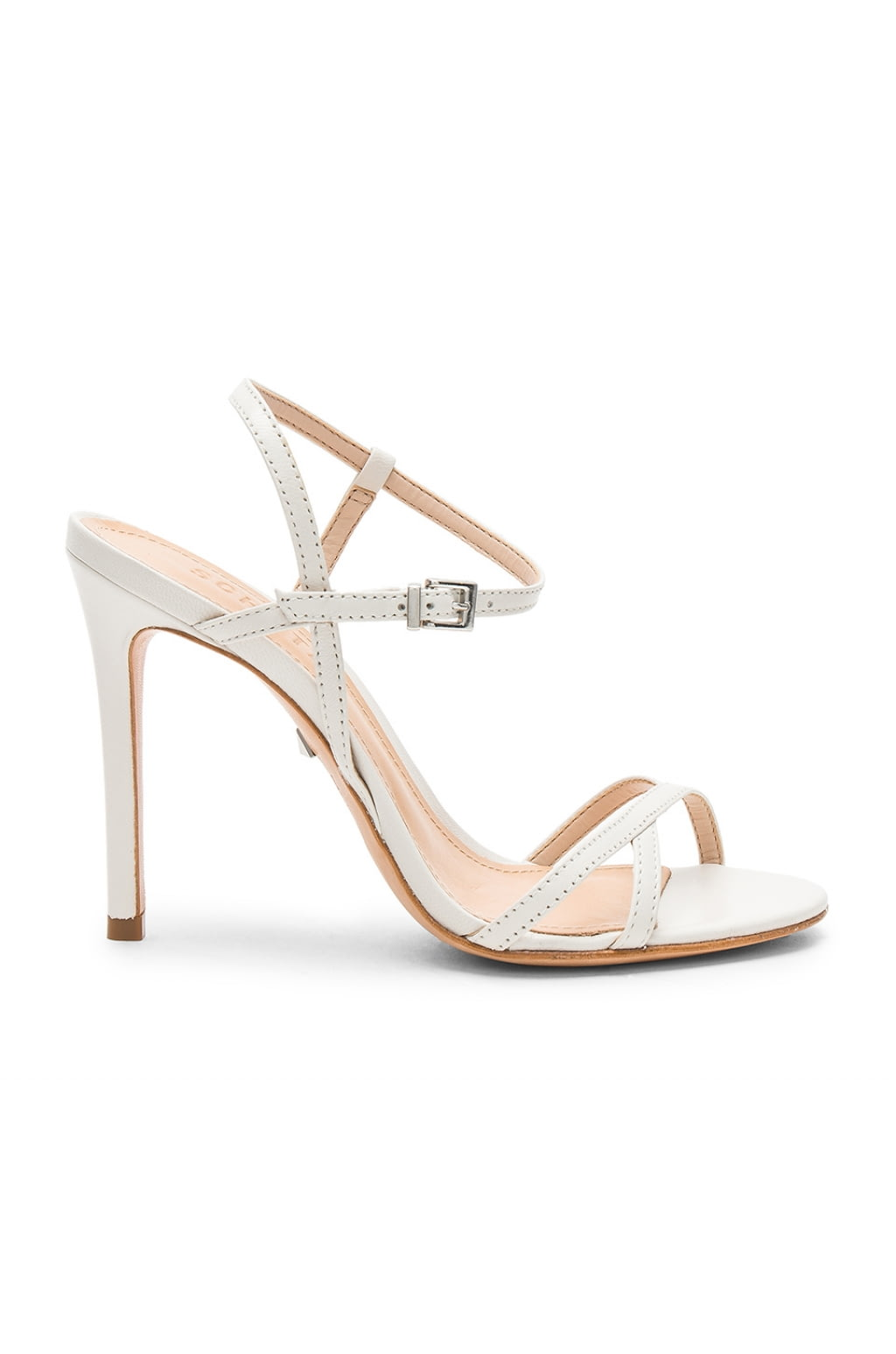 Opal Sandal in White. - size 8 (also in 10,6,6.5,7,7.5,8.5,9,9.5) Schutz