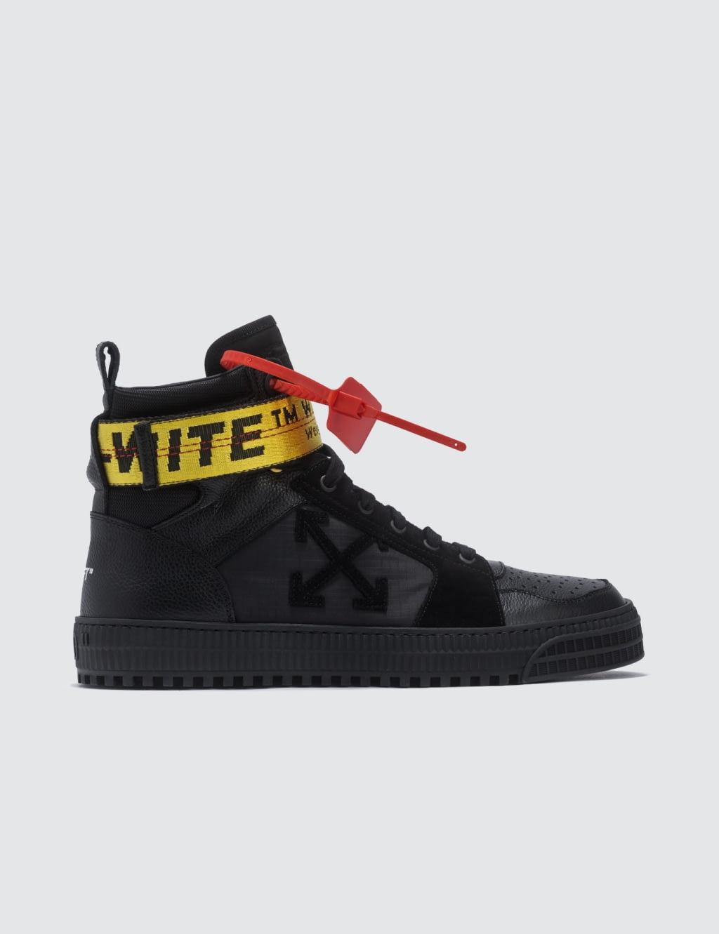 Jual Off White Industrial Hi Top Sneaker 100 Original Bobobobo Sepatu Sneakers Wanita Love