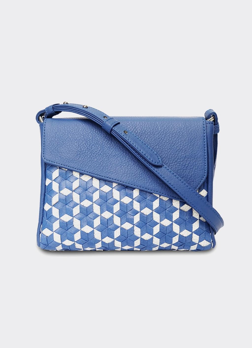 Chameo Couture Blue Matisse Choo Sling Bag