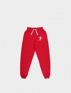 Footurama Past Future Sense Red Cotton Sweatpants II