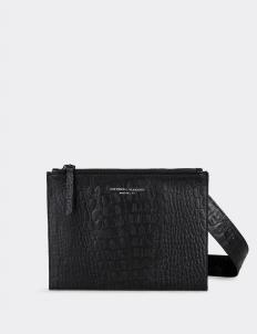 Aesthetic Pleasure Still Croc Embossed Leather