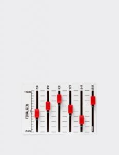 Dumbfounded White & Red Key Note - Key Hanger