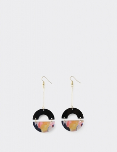 ISTAFADA Circle of Fantasy Earrings