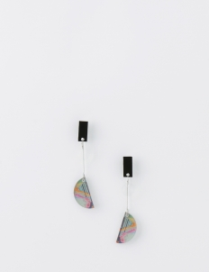 ISTAFADA Glitch Eclipse Earrings