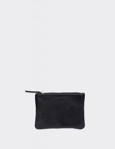 Miku Black Small Flat Pouch