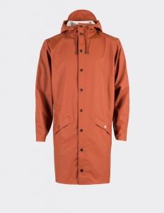 Rains Rust Long Jacket