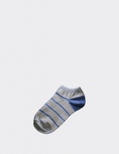 Socky Dusk Small Stripes Low Socks