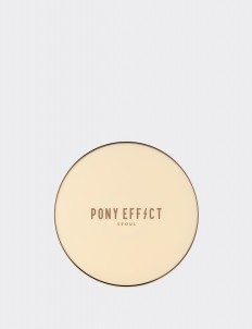 PONY EFFECT Rosy Beige Skin Fit Powder Pact