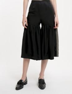 KOMMA Olive & Black Half Gathered Pants