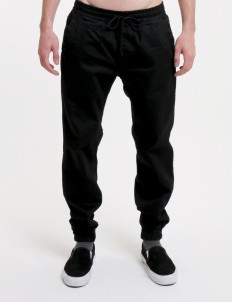 Sixteen Denim Scale Black Horton Sf 01 Jogger Pants
