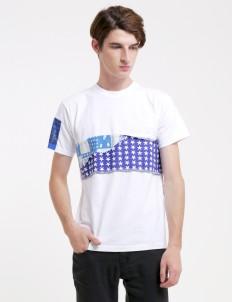 Phantasma White & Blue 009 T-shirt