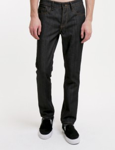 Sixteen Denim Scale Jeans Black Sf Sw 05 Raw Jeans