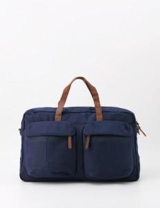 Denali Navy Monogram Weekender Duffle Bag
