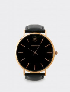 Chronicle Timepiece Rose Gold Bouverie 40 mm Watches