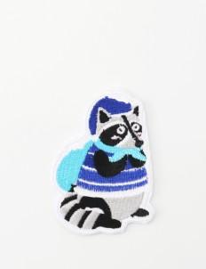 Scoolmate Design Raccoon Patch