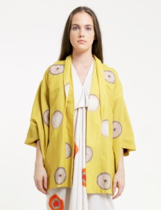 PURANA RTW Yellow Frenchie Outerwear