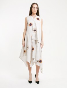 PURANA RTW White Farrah Dress