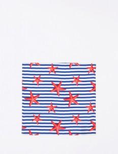 The Cufflinks Store Starfish Pocket Square