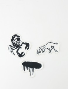 Phantasma Black Scorpion Patch