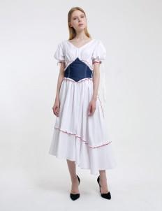 Lickstudio White Milk Dress