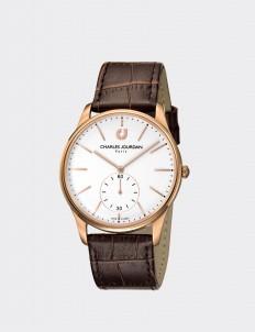 Charles Jourdan Brown & Rosegold CJ1021-1512 Man Watch