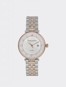 Charles Jourdan Silver & Rosegold CJ1008-2613 Woman Watch