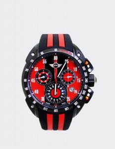 Mini Cooper Black & Red Mini 160101 Watch