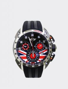 Mini Cooper Black & Gray Mini 160109 Watch
