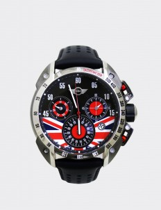 Mini Cooper Black & Gray Mini 160507 Watch