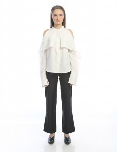 M By Mischa White Caine Top