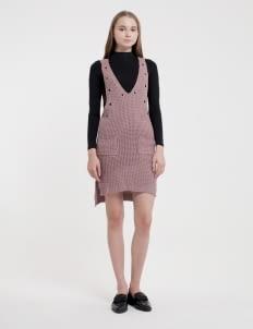 Someday Purple Mets Knit Dress
