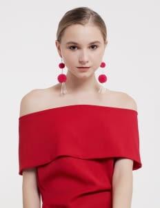 Giwang Pink Bloom Dara Earrings