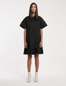 Wastu Black Cargo Dress