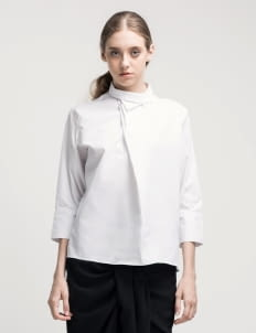 ATS THE LABEL White Yeva Top