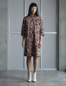 Wastu Multicolor Batik Utility Dress
